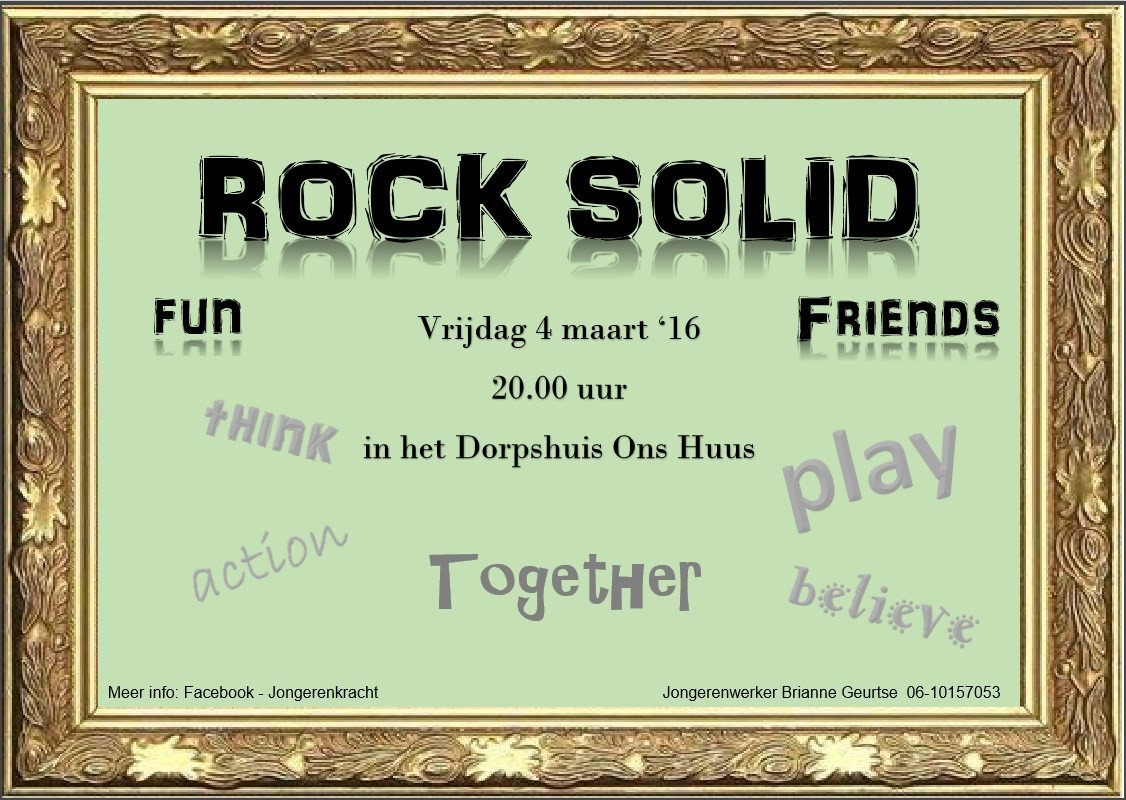 jeugdgroep Rock Solid